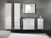 Plan de toilette PRIMA 85cm blanc ALLIA