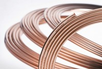 Tube cuivre SANCO recuit 6x1mm couronne de 50m TREFIMETAUX