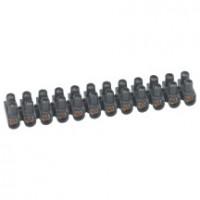 Barrette racc nylbloc noir 25mm² LEGRAND