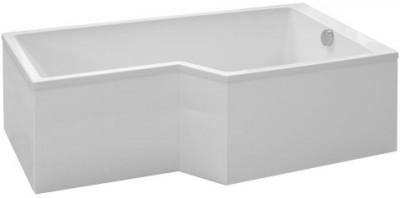 Tablier frontal + latéral aluminium blanc JACOB DELAFON