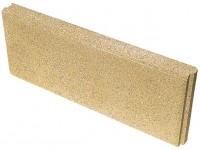 Bordure lisse à emboîtement jaune 5x20x50cm 2/ml PERIN ET CIE