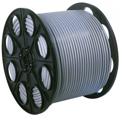 Câble HO5VVF gris 4G 2,5mm BRICODEAL