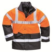 Parka haute visibilité orange fluo/marine taille XL PORTWEST