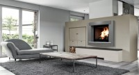 Cheminée à foyer ouvert FILANNE dordogne base marbre face encastrée 88x111x15mm RICHARD LE DROFF CHEMINEES