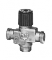 Vanne PR terminaux 3 voies VMP43.10 laiton pression nominale 16 SIEMENS