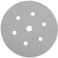 Disques Velcrops grain 240 6 trous diamètre 150mm, blister de 5 SIDAMO