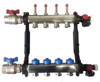 Collecteur inox 1-9 circuits avec debitmètre ROTH FRANCE