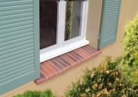 Appui de fenêtre préfabriqué magnolia 35x118x12,5cm TERREAL GO DECO