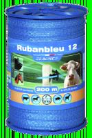 Ruban bleu 12mm en bobine de 400m LACME