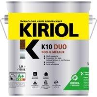 Peinture KIRIOL K10 duo satin bleu Provence 0,75l MADER COLORS