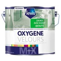 Peinture LEVIS oxygène velours blanc 0,930l AKZO