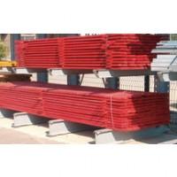 Planche rouge de sécurité 32x150mm 4m SIAT BRAUN