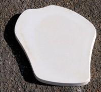 Pas japonais lisse ton pierre 35x30x3cm MAUBOIS