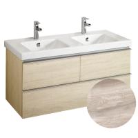 Meuble sous plan vasque ODEON UP - Effet chêne gris - JACOB DELAFON