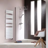 Radiateur sèche-serviettes électrique FASSANE SPA 750W blanc ACOVA