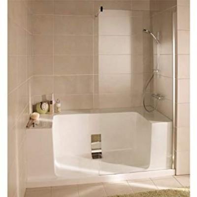 syst me lot de douche facilot angle gauche 185x65x85 cm. Black Bedroom Furniture Sets. Home Design Ideas