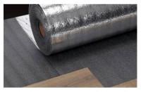 Sous-couche d'isolation phonique SILVERFOAM épaisseur 3mm 1x15m 15m²/rouleau THEARD