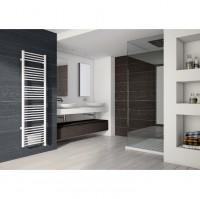 Radiateur sèche-serviettes électrique soufflant OSLO 2 1000/1000W blanc