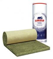 Feutre de bardage en laine de verre, BARDAGE 40 R épaisseur 80mm 1.2x10m 12m²/rouleau URSA