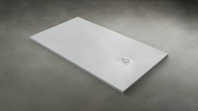 Receveur DAILYO ardoise blanc 120x90cm