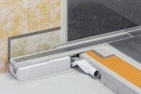 Kit de caniveau KERDI-LINE-F longueur 90cm hauteur 40cm SCHLUTER SYSTEMS