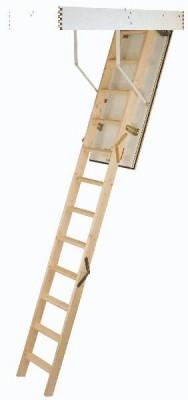 Escalier escamotable ISOWOOD isolé 140x70x2800mm