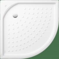 Receveur de douche d'angle TARGA CLASSIC blanc 900x900x55mm VILLEROY ET BOCH