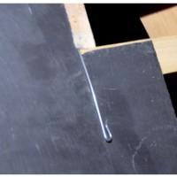 Crochet ardoise inox 18/10 pointe 8x15 2,4mm boîte de 900