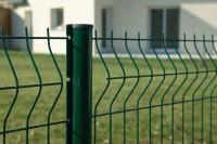 Panneau grillage AXIS S maille 100x50mm vert 2,48x1,70m DIRICKX