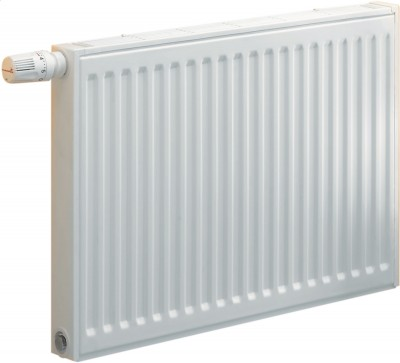 Radiateur panneau SAMBA gamme horizontale 6 orifices type 11 habillé acier hauteur 900mm 24 éléments 1052W thermostatisable dont 2 posi  CHAPPEE