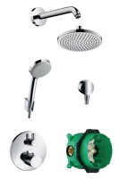 Pack CROMA 160 douches HANSGROHE