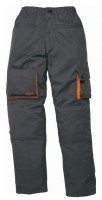 Pantalon de travail double MACH2 gris/orange taille XL