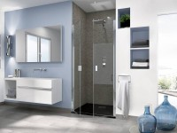 Porte de douche SMART OT 2 portes N 120 chromé TN
