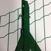 Piquet plastifié T30 2,25m vert