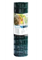 Grillage soudé vert 100x75mm hauteur 1,20m rouleau 25m