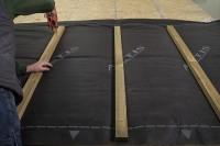 Écran de sous-toiture isolant Boost'R'Hybrid - rouleau de 10,67x1,5 m (16 m2) - R= 3,45 m².K/W ACTIS