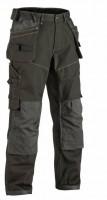 Pantalon CRAFTSMAN TROUSER vert olivre/noir taille 48 BLAKLADER WORKWEAR