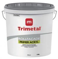 Peinture acrylique PRIMER ROLLFACADE ACRYL blanc 15l TRIMETAL