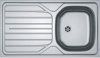 Evier inox RENOVA 611-86 réversible avec vidage manuel 90x102 860x500mm FRANKE