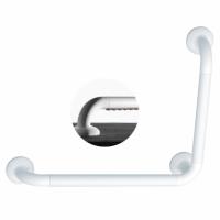 Barre d'appui coudée Ergosoft polyalu 90° blanc 33x564.5x464.5mm PELLET
