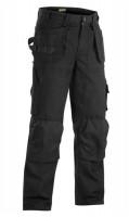 Pantalon artisan poches libres côtés noir 225g taille 52 BLAKLADER WORKWEAR