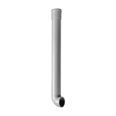 Dauphin sans joint coudé gris 1m 100mm de diamètre NICOLL