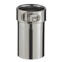 Adaptateur pour poêle (pelet) PGI diamètre 80mm POUJOULAT