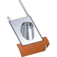 Solin inox 30°-45° tuile inox pente SIT45180 POUJOULAT