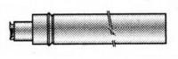 Ventouse horizontale recentrer DY885 60/100 DE DIETRICH
