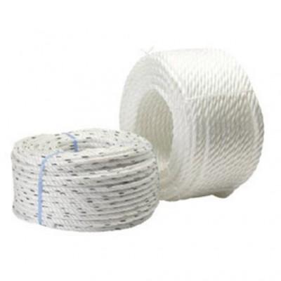 Cordage polypropylène 3 torons blanc 16mmx25m GODET MESNARD