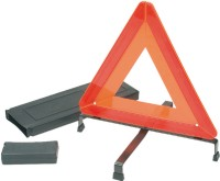 Triangle de signalisation rouge JSP