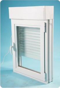 Fenêtre CLASSIC HIT PVC oscillo-battant avec volet roulant intégré 95x120cm - Merignac - 33701