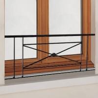 Balcon Zenith avec main courante fer 40x130cm