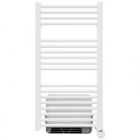 Radiateur sèche-serviettes électrique soufflant OSLO2 blanc 500/1000W